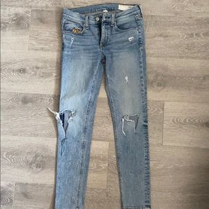 Rag & Bone Skinny Ankle low rise size 25 jeans